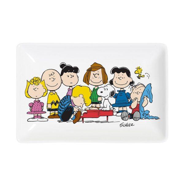 Bandeja vaciabolsillos Snoopy Gang – Magpie – ceramica vegana – Peanuts – Liderlamp (1)