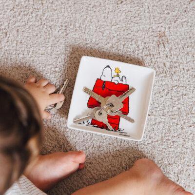 Bandeja vaciabolsillos Snoopy House - Magpie - ceramica - Peanuts - Liderlamp (1)