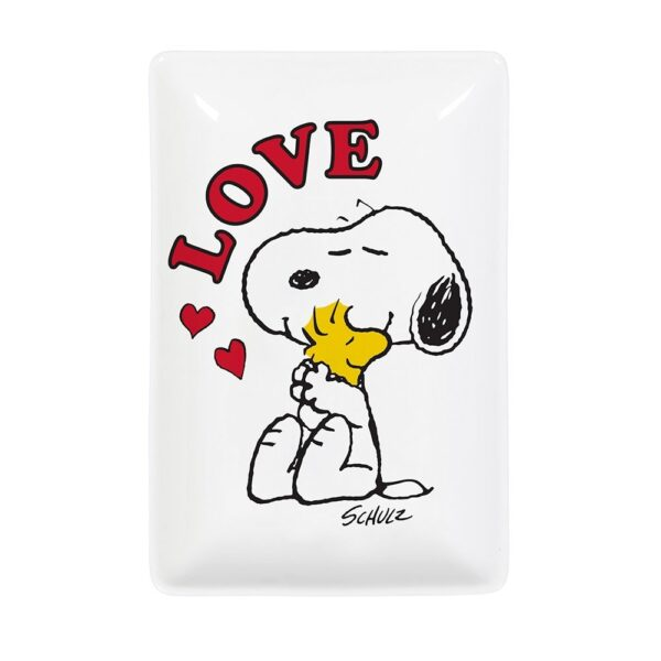 Bandeja vaciabolsillos Snoopy Love – Magpie – ceramica – Peanuts – Liderlamp (4)