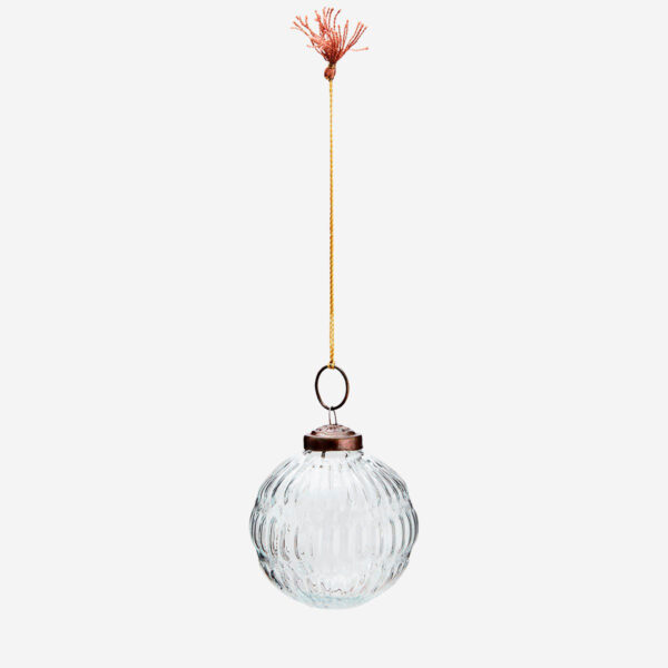 Bola colgante de cristal – adorno – bola de navidad – Madam Stoltz – Liderlamp (2)