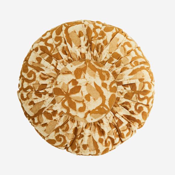 Cojin redondo – textiles hogar – sofa – estampado floral – abstracto – Liderlamp (4)