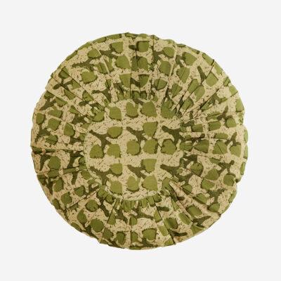 Cojin redondo - textiles hogar - sofa - estampado floral - abstracto - Liderlamp (5)