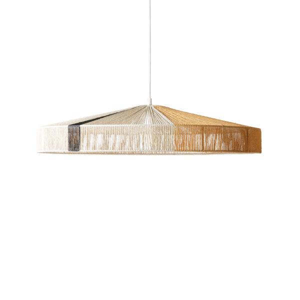 Colgante Cape - cuerda de papel - HKliving - mostaza - negro