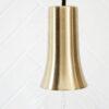 Colgante Funnel – House Doctor – laton cepillado – portalamparas – Liderlamp (1)