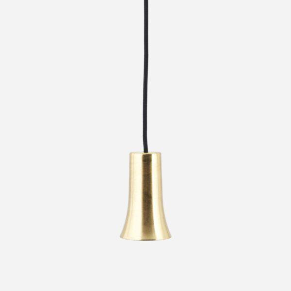 Colgante Funnel – House Doctor – laton cepillado – portalamparas – Liderlamp (2)