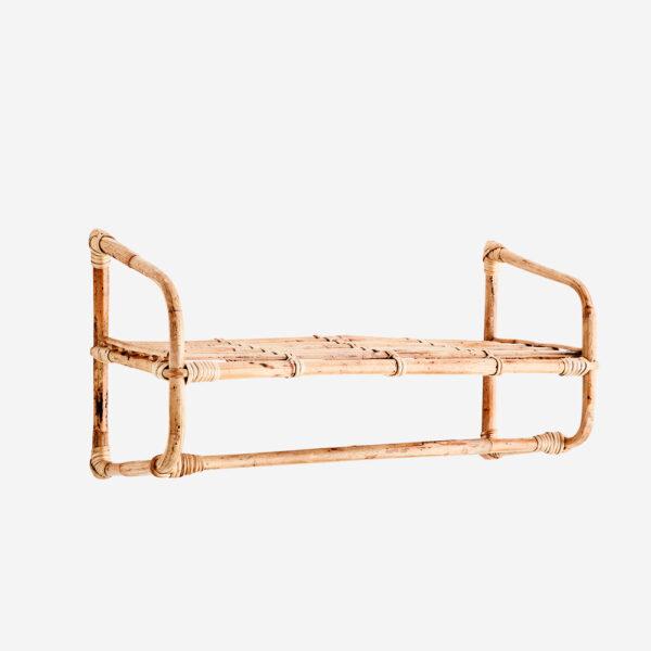 Estanteria Dua – Bambu – almacenaje pared – orden – Madam Stoltz – Liderlamp (1)