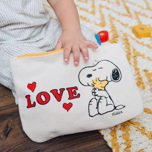 Estuche Snoopy - Love - Magpie - neceser - Peanuts - cambia bolsos - Liderlamp (1)