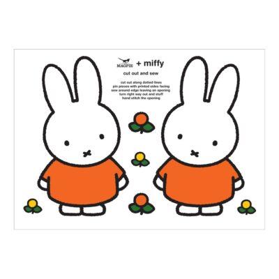 Haz tu cojin de Miffy - Cut & Sew - Magpie - kit costura - Peanuts - Liderlamp (1)