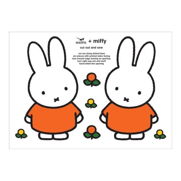 Haz tu cojin de Miffy – Cut & Sew – Magpie – kit costura – Peanuts – Liderlamp (1)