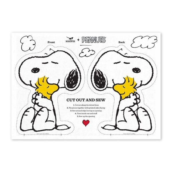 Haz tu cojin de Snoopy – Love Cut & Sew – Magpie – kit costura – Peanuts – Liderlamp (1)
