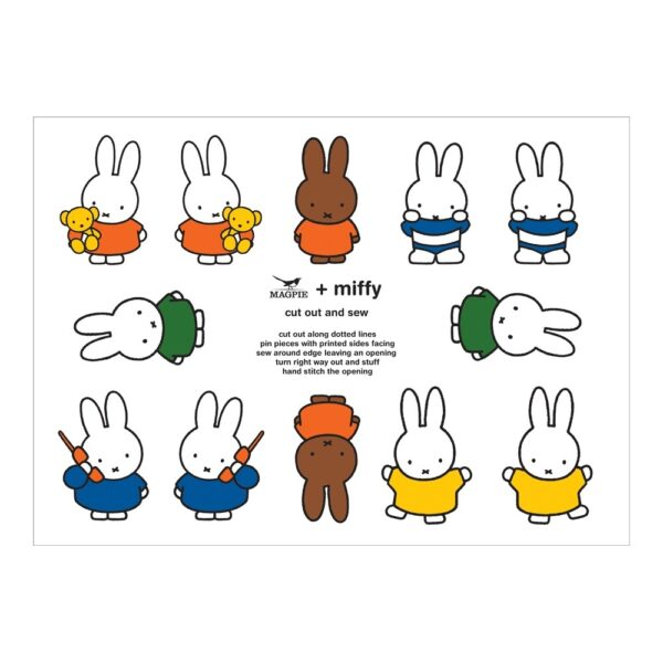 Kit de costura Miffy – Cut & Sew – Magpie – kit costura – Peanuts – Liderlamp (1)