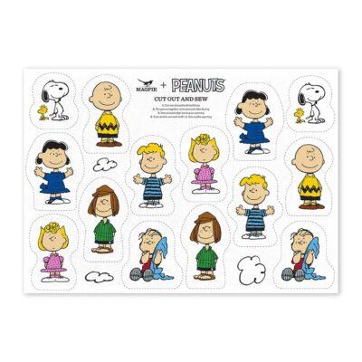 Kit de costura Snoopy - Cut & Sew - Magpie - aprender coser- Peanuts - Liderlamp (1)