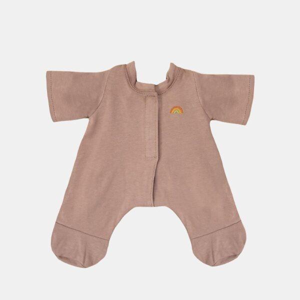 Pijama para muneco de trapo – verde – Olli Ella – Dinkum dolls – Liderlamp