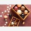 Set de 6 bolas de papel mache – adorno – bola de navidad – Madam Stoltz – Liderlamp (2)