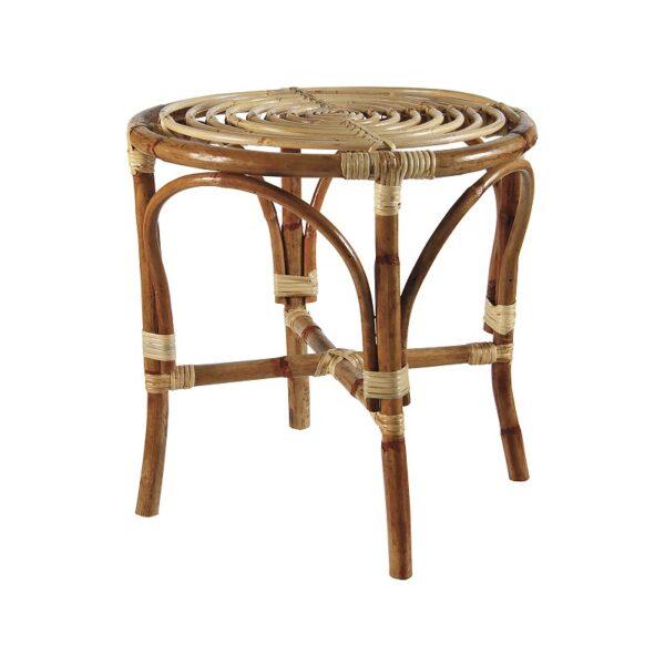 Mesita de bambú – artesano – mueble auxiliar – &Klevering