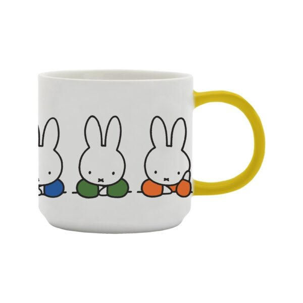 Taza Miffy colores - Dick Bruna - Porcelana vegana - regalo ninos - Liderlamp (1)