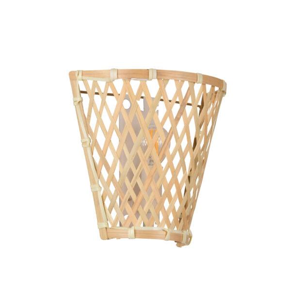 Aplique Kami - cesta - bambu - fibras naturales - Market set - Liderlamp (5)
