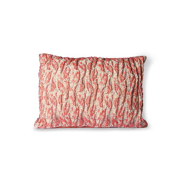 Cojin tejido jacquard – rojo – HK LIving – algodon – 30×40 – Liderlamp (2)