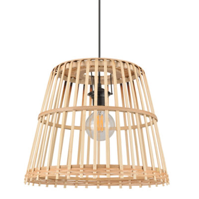 Colgante Cortes - cesta - bambú - fibras naturales - Market set - Liderlamp (3)