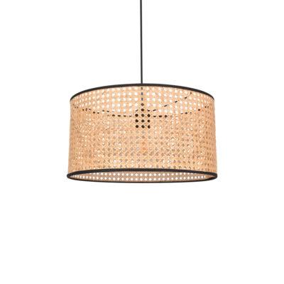 Colgante Cyl - rejilla cannage - fibras naturales - Market set - Liderlamp (4)