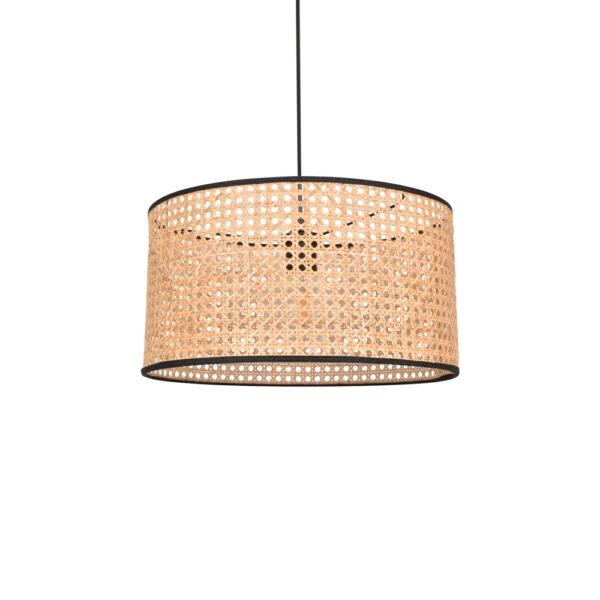 Colgante Cyl – rejilla cannage – fibras naturales – Market set – Liderlamp (4)