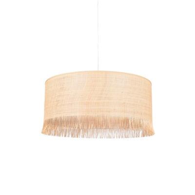 Colgante Ibiza - rafia - flecos - fibras naturales - Market set - Lidrlamp (4)