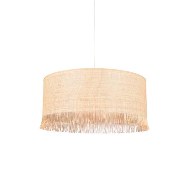 Colgante Ibiza – rafia – flecos – fibras naturales – Market set – Lidrlamp (1)