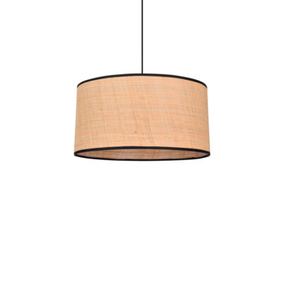 Colgante Raphia - cesta - bambu - fibras naturales - Market set - Liderlamp (1)