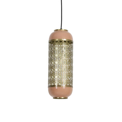Colgante Rohut - rosa antiguo - Light & Living - farol - celosia - metal - Liderlamp (1)