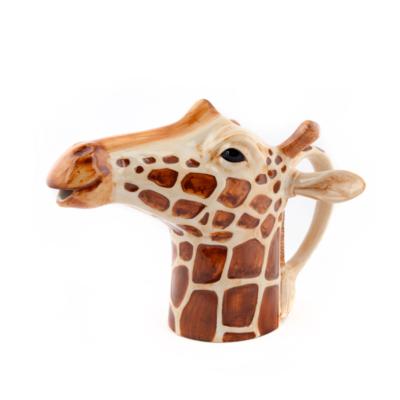 Jarra Jirafa ceramica - Quail ceramics - Florero - taza - artesanal - menaje - Liderlamp