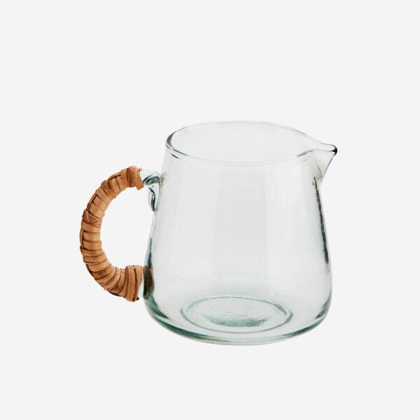 Jarra de cristal - asa bambu - Madam Stoltz - menaje hogar - cristaleria - Liderlamp (2)