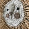 Leon – brillo metalico – deco ninos – Artesanal – Ila y Ela – crochet – Liderlamp (2)