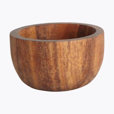 Mini bol para salsas - madera de acacia - servicio de mesa - House Doctor - Liderlamp (1)