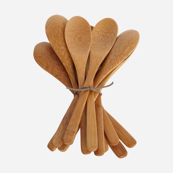 Set cucharas de bambu - servicio de mesa - eco - House Doctor - Liderlamp