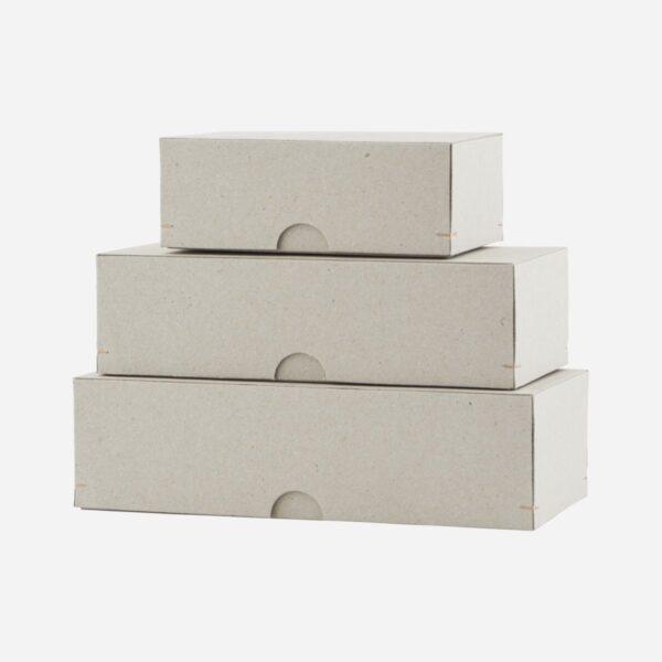 Set de cajas de carton – rectangular – escritorio – Monograp – papeleria – Liderlamp (1)