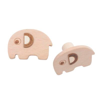 Set perchas elefantes - madera - colgador - habitacion ninos - Liderlamp (1)