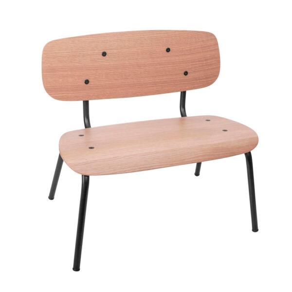 Silla Oakee – mueble ninos – mesa de juegos – metal y madera – Sebra – Liderlamp (1)