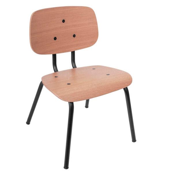 Silla Oakee - mueble ninos - mesa de juegos - metal y madera - Sebra - Liderlamp (3)