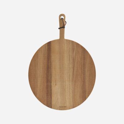 Tabla de corte - pizza - madera de acacia - Nicolas Vahe - servir - Liderlamp (1)