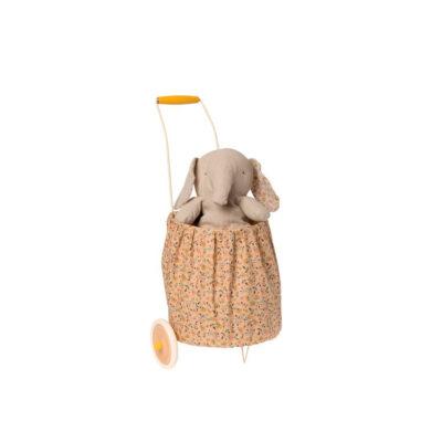 Trolley flores - Maileg - micro - Maileg - decoracion ninos - cesta - Liderlamp - (2)