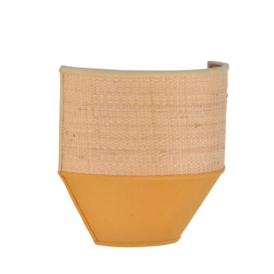 Aplique Ciconia - mostaza - fibras naturales - Market Set - natural - Liderlamp (1)