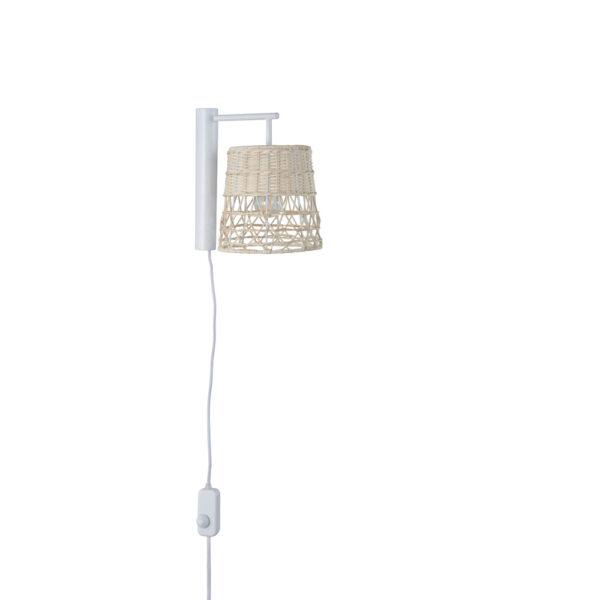 Aplique Gukin – natural – Corep – Marketset – pantalla ratan – Liderlamp