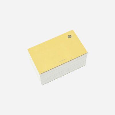 Bloc de notas Amarillo - Monograph - papeleria - escritorio - Liderlamp (1)