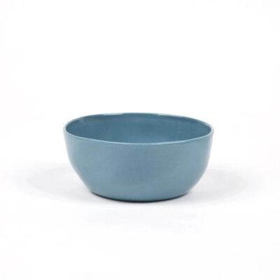 Bol de ceramica - azul petroleo - Quail Egg - Artesano - menaje - Dips - Aperitivo -Liderlamp (2)
