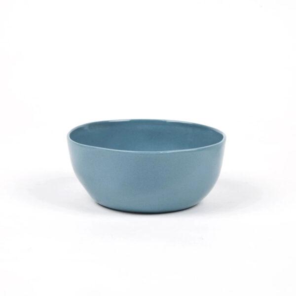 Bol de ceramica – azul petroleo – Quail Egg – Artesano – menaje – Dips – Aperitivo -Liderlamp (2)