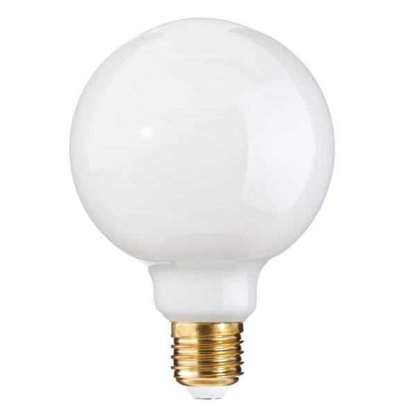 Bombilla esférica E27 – LED – 6W – 2700K – Ixia – blanco cristal- Liderlamp (1)