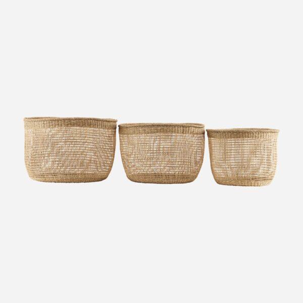 Cesta Shape – fibras naturales – macetero – almacenaje – House Doctor – Liderlamp (1)