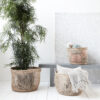 Cesta Shape – fibras naturales – macetero – almacenaje – House Doctor – Liderlamp (2)