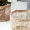 Cesta Shape – fibras naturales – macetero – almacenaje – House Doctor – Liderlamp (3)