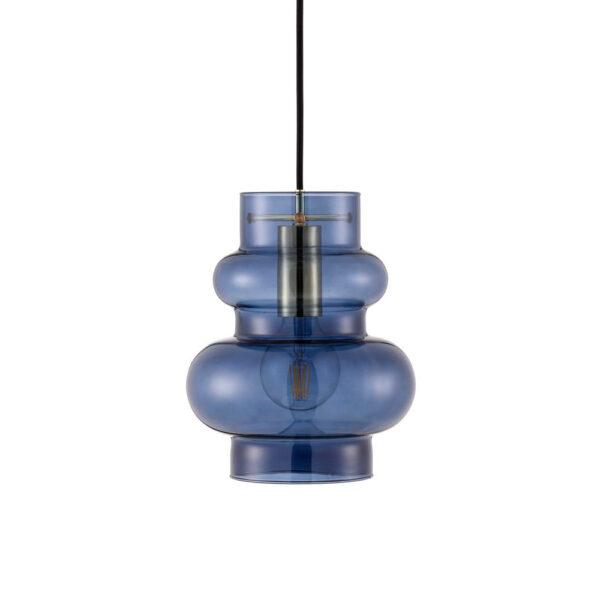 Colgante Balloon grande – Dusk Blue – Normann Copenhagen – cristal – Liderlamp (1)